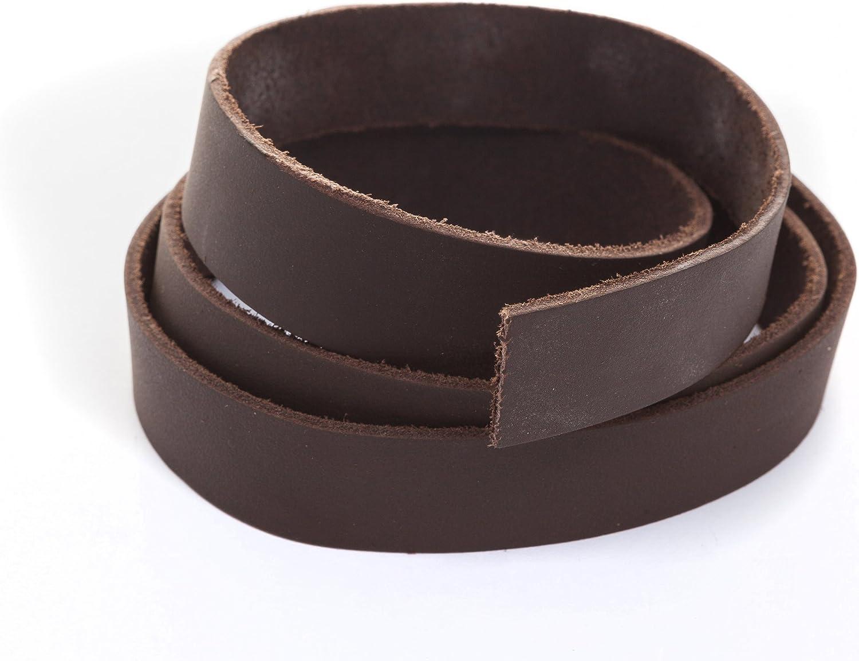 Banda de piel marr/ón Breite: 10 mm piel correa de cuero plano 1/Metros Ancho//Color: A Elegir.