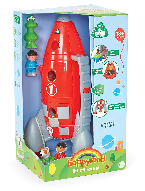 Amazon com: Happyland Lift Off Rocket - With Lights & Sounds