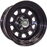 "Pro Comp Steel Wheels Series 52 PCW52-5765 Black Wheel (15x7"" / 5x4.5"")"