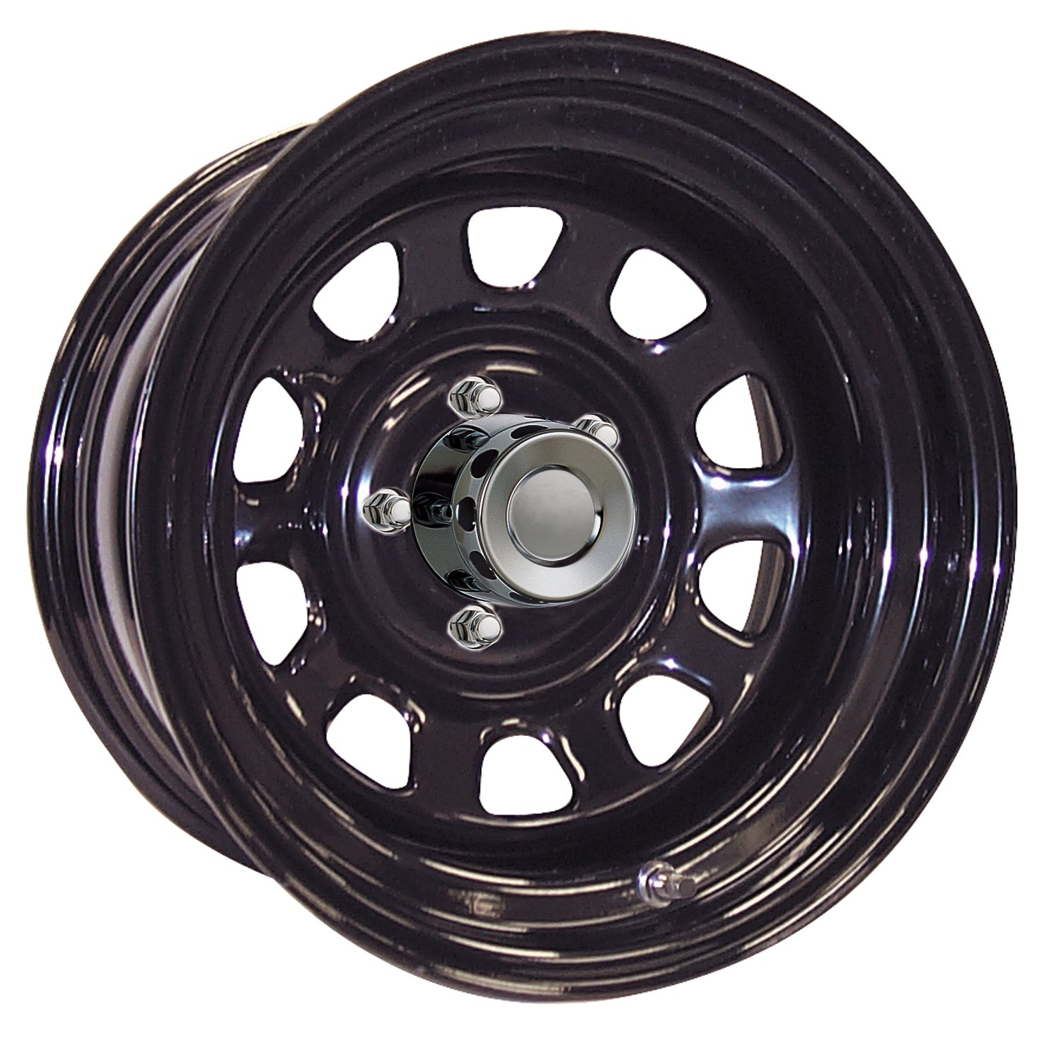 Pro Comp Steel Wheels Series 52 Wheel with Gloss Black Finish (16x15''/8x5.5'')