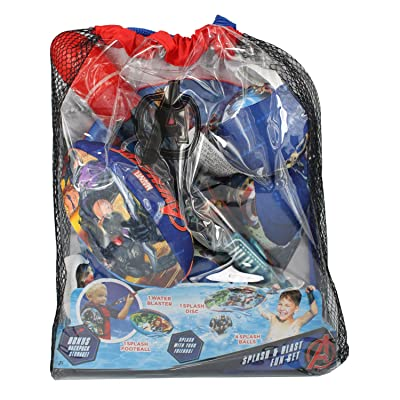 Dazzling Deals Avengers Splash and Blast Fun Set: Toys & Games