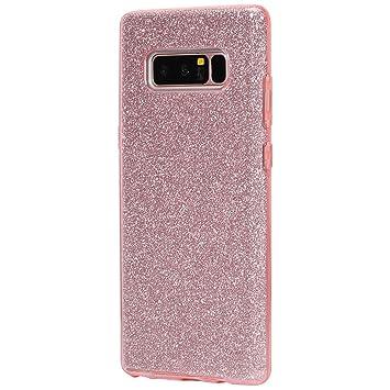 Funda para Samsung Galaxy Note 8, IKASEFU Carcasa de lujo ...