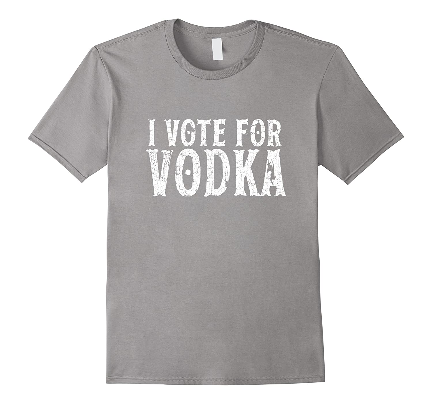 I Vote For Vodka T-shirt Alcohol Lovers Gifts American Flag