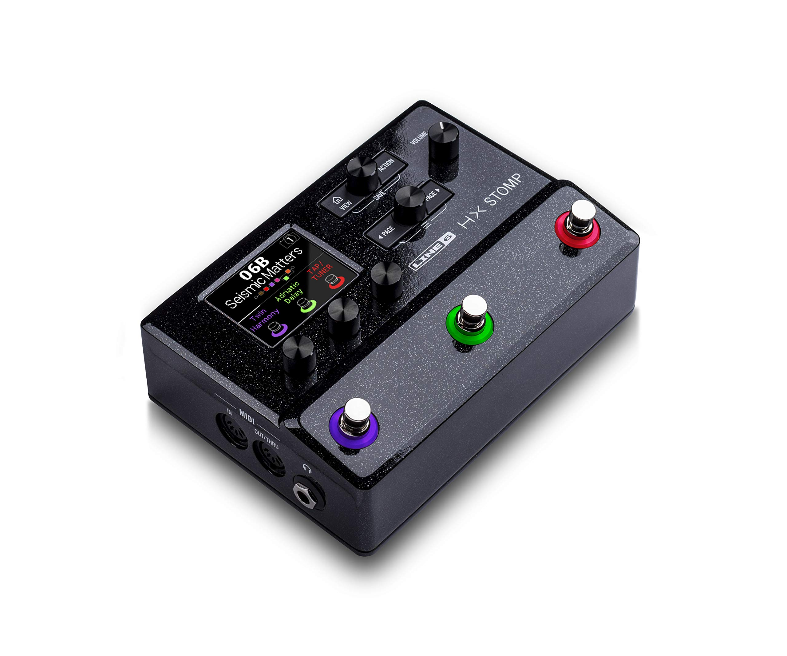 Line 6 Electric Guitar Multi Effect, Black (HX Stomp) by Line 6 (Image #3)