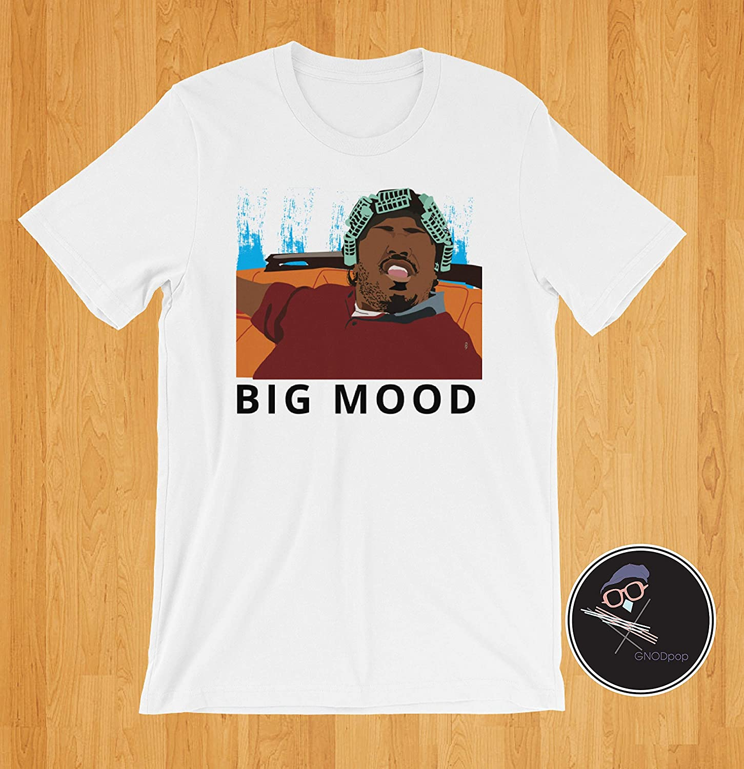 Friday Big Mood T-shirt From 90's Clothing, Classic Movie Friday, Gift For Best Friend, Gift For Boyfriend, Husband, Wife