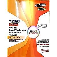 CA Final Direct tax laws & International taxation