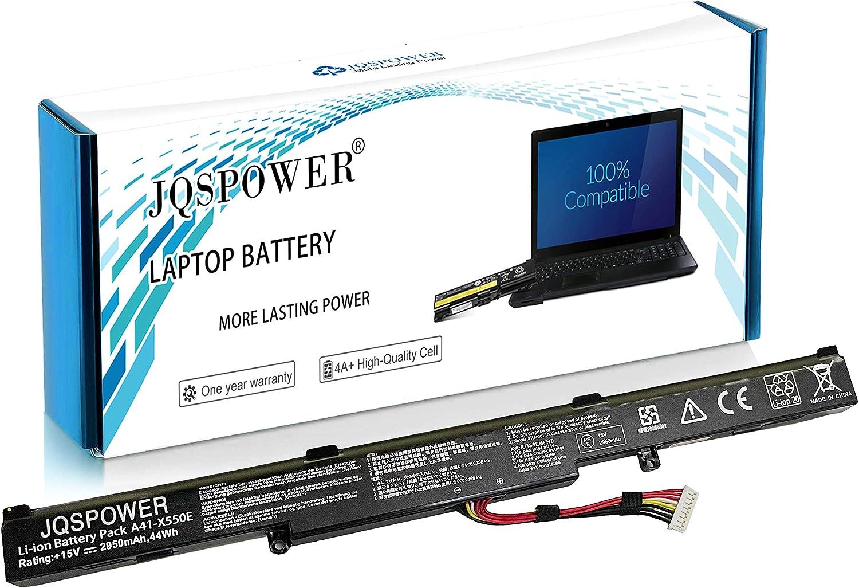 33Wh//14.8v NinjaBatt Batteria A41-X550E per ASUS X450 X450E X450FJ A450J A450E X550E X550D X550V X550Z X550DP X550ZA X751L X751M F450 F751MA X750JA X750JB X750JN X750LN R751 Alte Prestazioni
