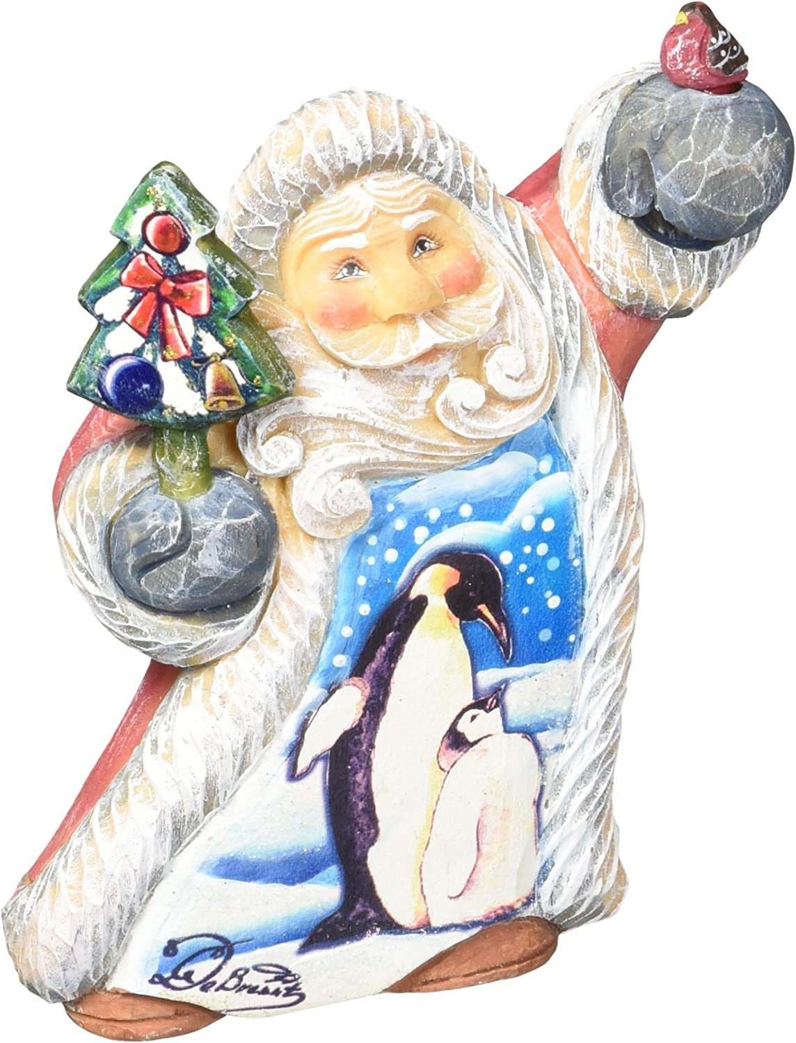G Debrekht Penguin Love Tiny Tale Santa Amazon Co Uk Kitchen Home