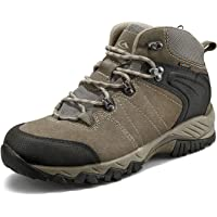 Clorts Mens Hiking Boots Waterproof Suede Leather Lightweight Hiking Shoes Outdoor Backpacking Trekking Trails