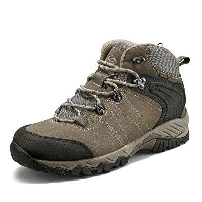 57ea91b1c62 Clorts Men's Hiking Boots Waterproof Suede Leather Lightweight Hiking Shoes  Outdoor Backpacking Trekking Trails