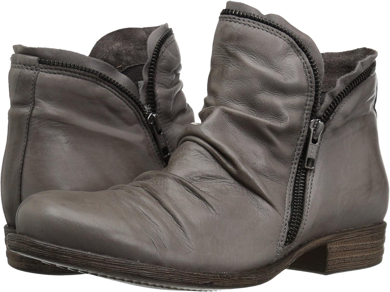 Miz Mooz Luna Bota de Tobillo para Mujer, Gris (Gris), 38 EU: Amazon.es: Zapatos y complementos