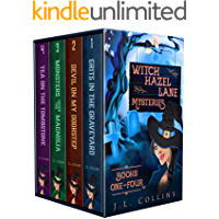 Witch Hazel Lane Mysteries: Paranormal Cozy Boxset Books 1-4 (Witch Hazel Lane Mysteries Boxsets Book 1)