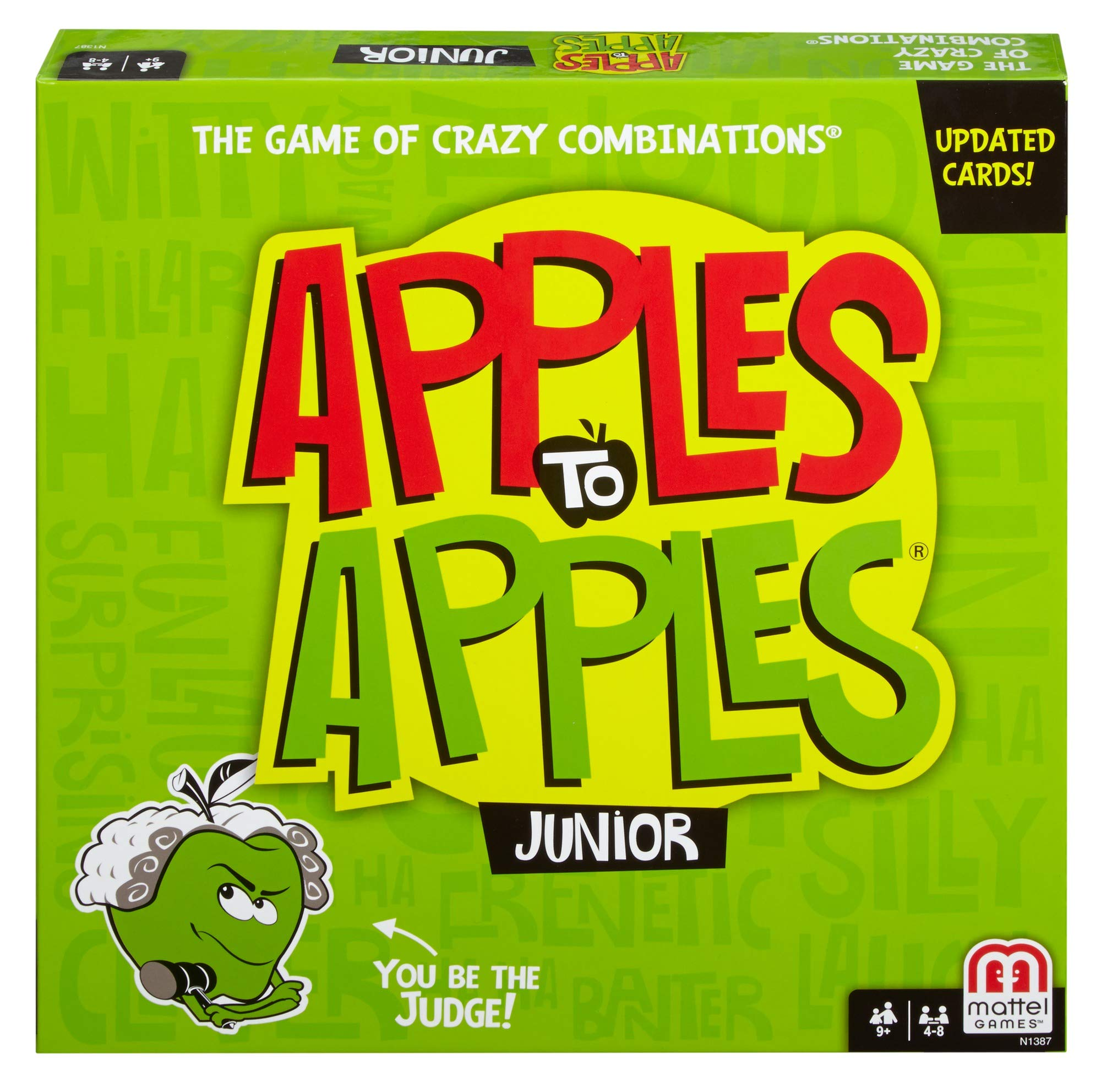 Mattel Games Apples to Apples Junior - The Game of Crazy Comparisons (Packaging May Vary) by Mattel Games