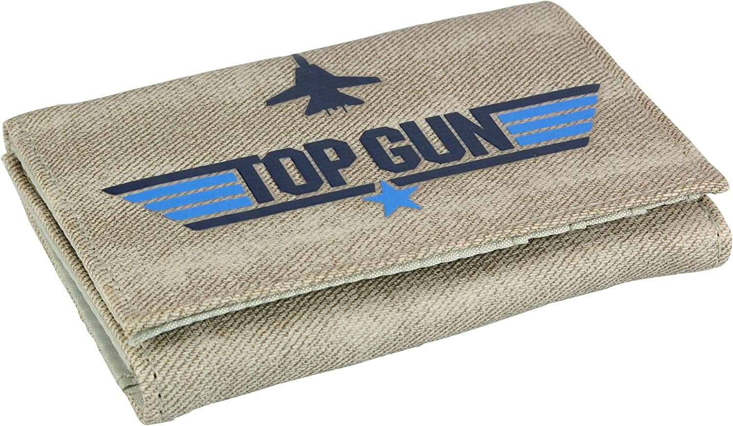 OFFICIAL Top Gun Logo The Need For Speed Trifold Wallet NEW