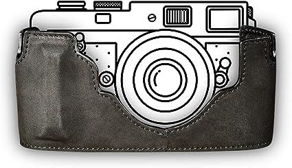Leica M10 Half Case Aus Feinstem Rindsleder Stabile Kamera