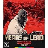 Years Of Lead: Five Classic Italian Crime Thrillers 1973-1977 [Blu-ray]
