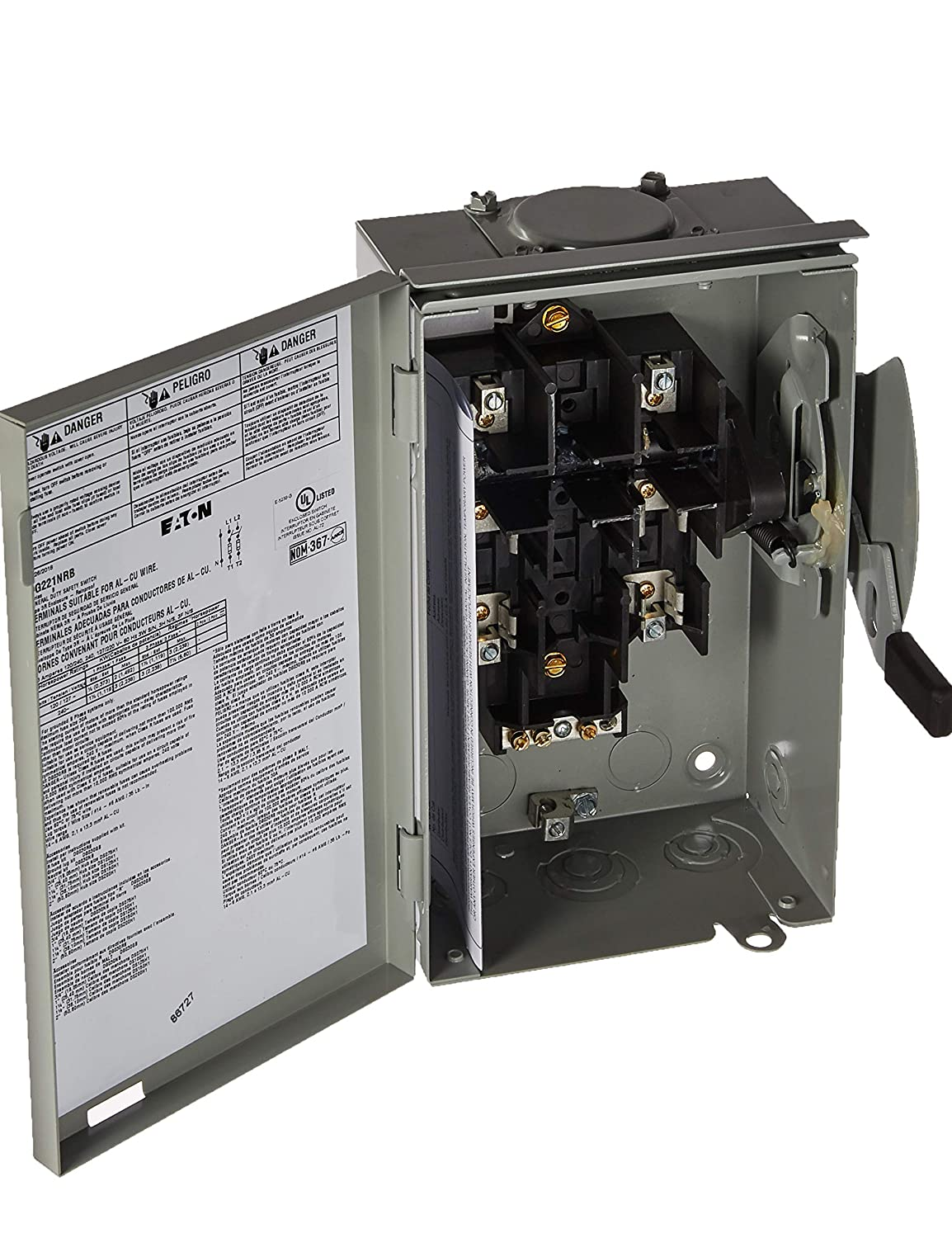 Amazon.com: Eaton Corporation dg221nrb Interruptor de ...