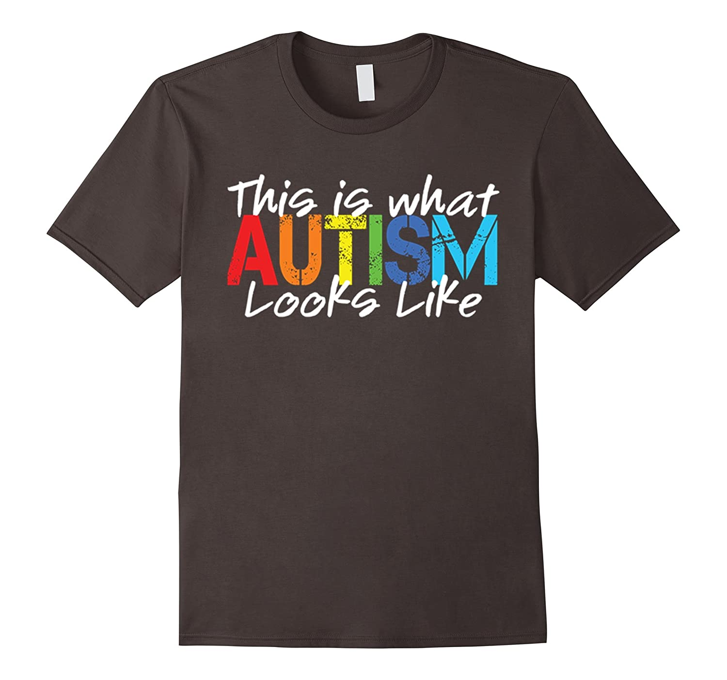 This Is What Autism Looks Like T-Shirt Autism Awareness Gift-TH