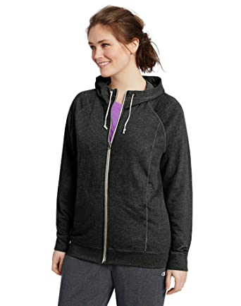 537915bb4ef3f Champion Women s Plus-Size French Terry Full Zip Jacket at Amazon Women s  Clothing store