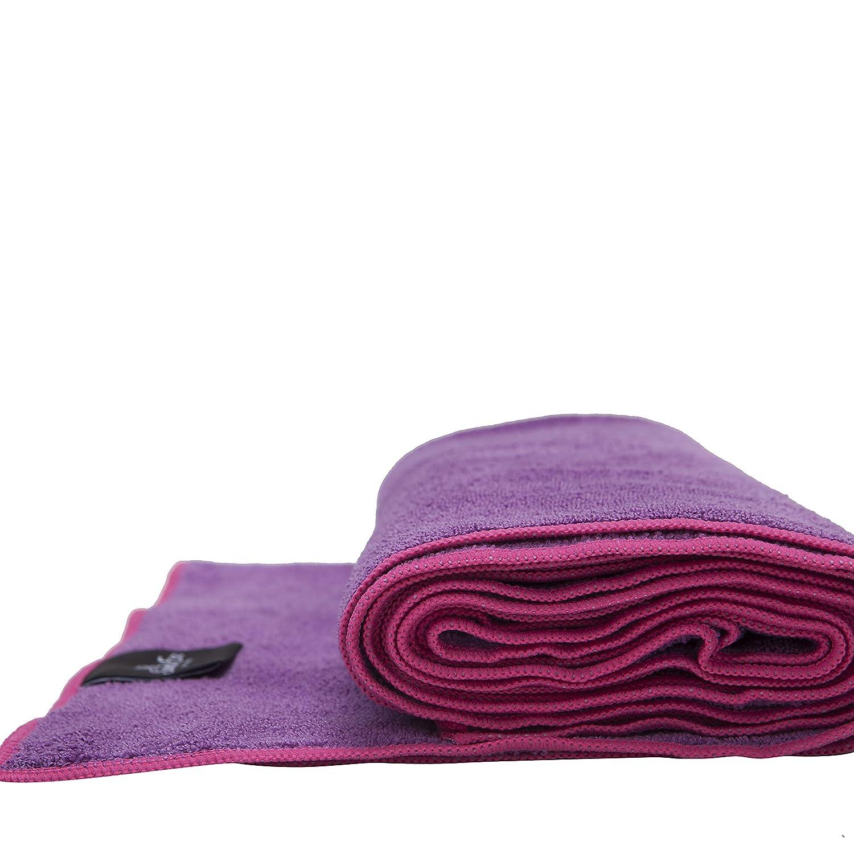 Non-Slip Bikram Hot Yoga Towels Sweat Absorbent Best Yoga Mat /& Hand Towel Hand Towel 2 pcs Optional! Perfect Size for Mat Super Soft Mat Towel 1 pc Ideal for Hot Yoga /& Pilates