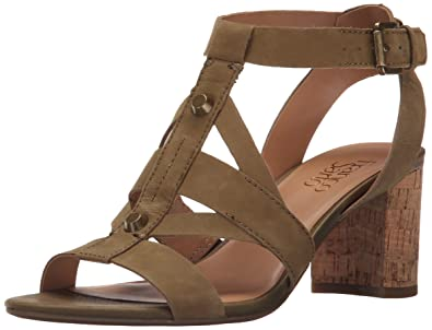 Franco Sarto Women's Paloma Dress Sandal, Olive, ...