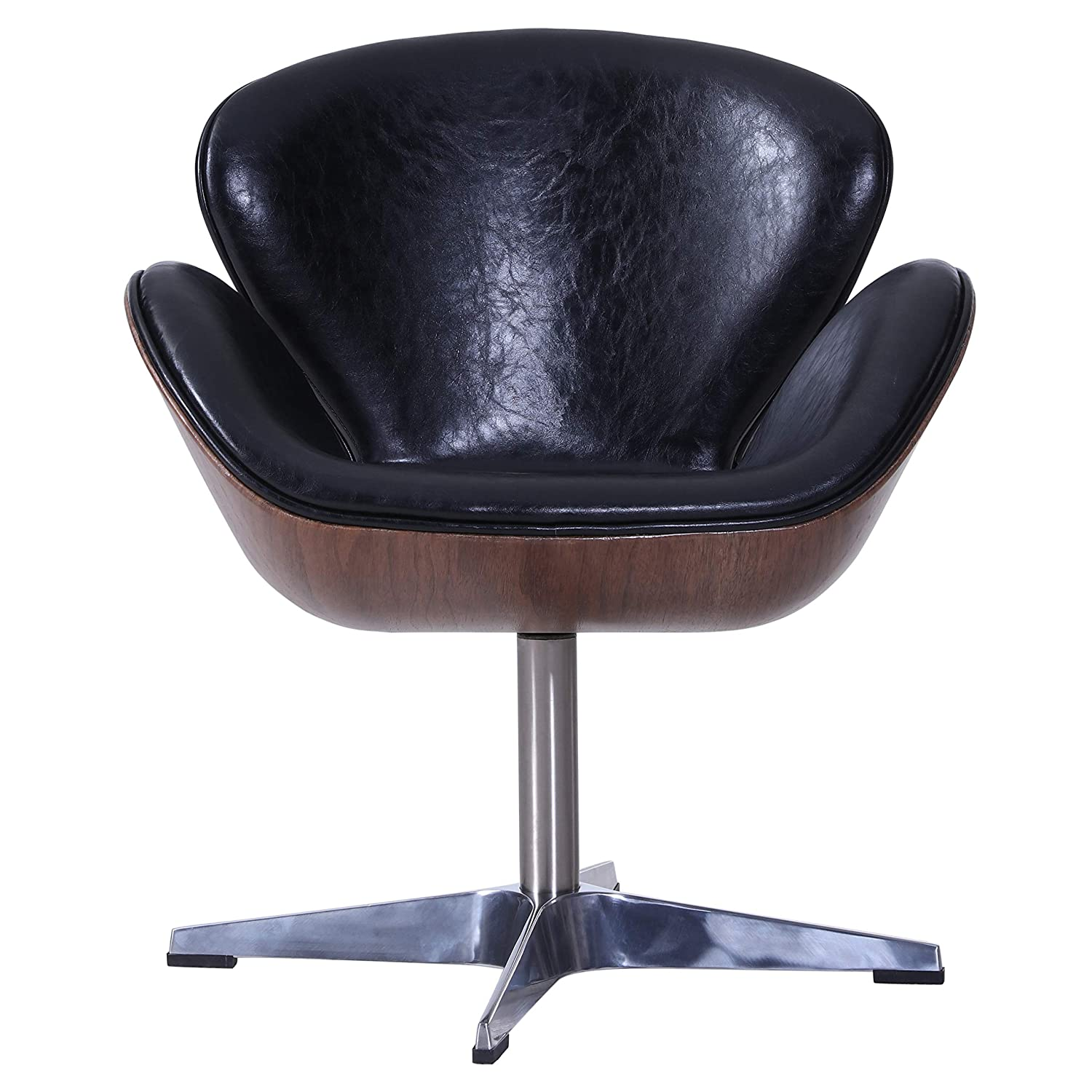 Amazing Amazon Com New Pacific Direct Clayton Pu Leather Swivel Ncnpc Chair Design For Home Ncnpcorg