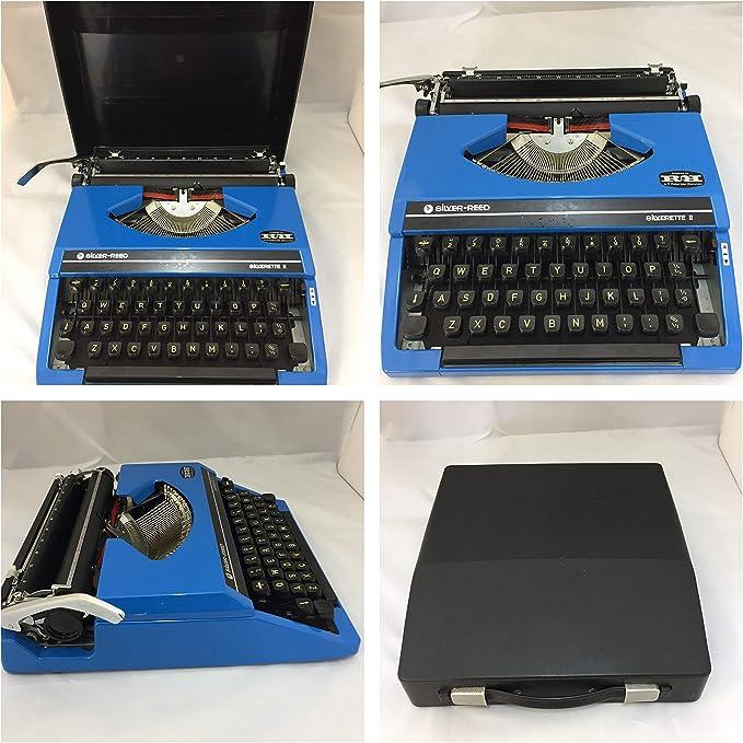 Silverette II - Máquina de escribir manual en caja (totalmente ...
