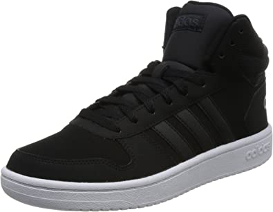 adidas hoops 2.0 mid scarpe da basket uomo