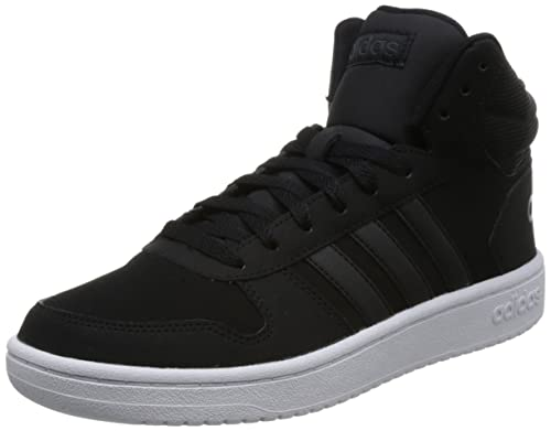 buy popular 0e968 03c23 adidas Hoops 2.0 Mid, Scarpe da Basket Uomo, Nero Cblack Carbon, 41