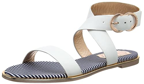 0c6665e8e1cd Ted Baker Women s Qereda Ankle Strap Sandals  Amazon.co.uk  Shoes   Bags