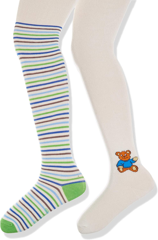 Playshoes Schildkr/ã/£/â/¶Te und Teddyb/ã/£/â/¤r mit Komfortbund Collant Bambina