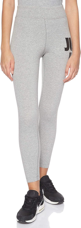 Leggings a 7//8 Donna Multicolore IT 48-50 Nike Sportswear Leg-A-See JDI L Dark Grey Heather//Nero