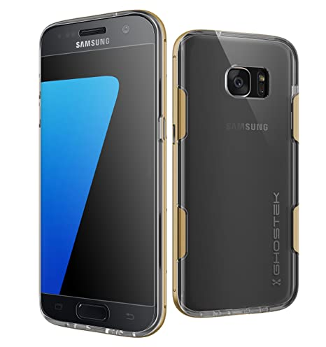 S7 Edge Case, Ghostek Cloak Series for Samsung Galaxy S7 Edge Slim Protective Armor Case Cover(Gold)