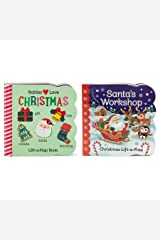 2 Pack Christmas Lift-a-Flap Board Books (Chunky Lift a Flap) Board book