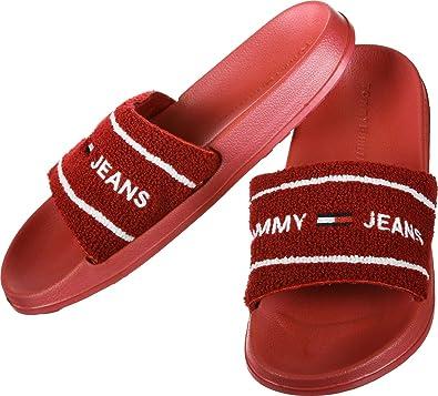 b32ff7263af Tommy Jeans Summer Slide Bath Slippers  Amazon.co.uk  Shoes   Bags