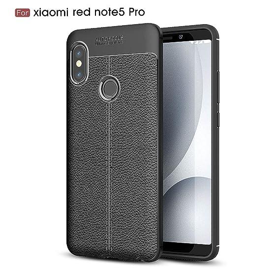 buy popular 545ba 5168d Amazon.com: Xiaomi Redmi Note 5 Pro Case,MYLB Lightweight Carbon ...