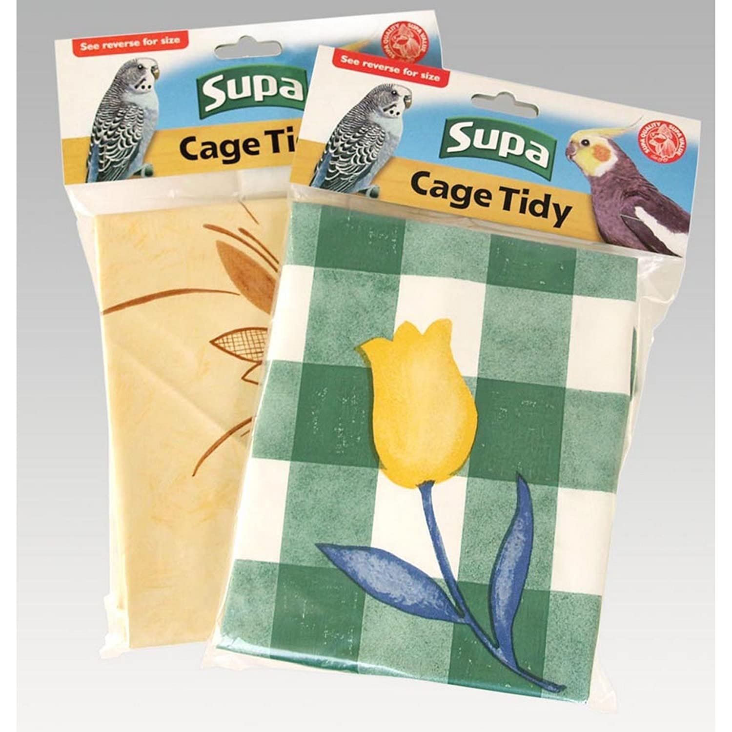 Supa Bird Cage Tidy Sheet (Extra Large) (Multicoloured) UTVP8676_3