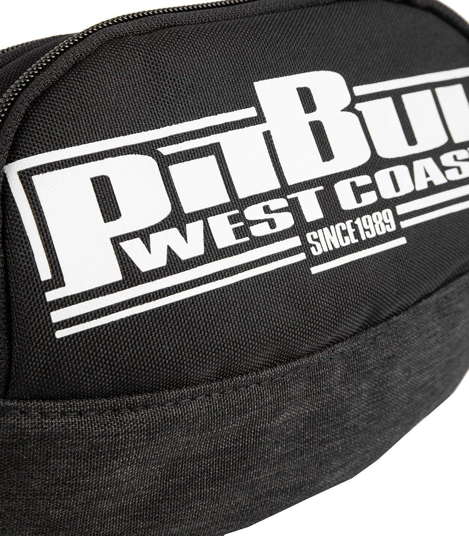 Pit Bull West Coast Bauchtasche New Logo Schwarz Hüfttasche Gürteltasche Hipbag
