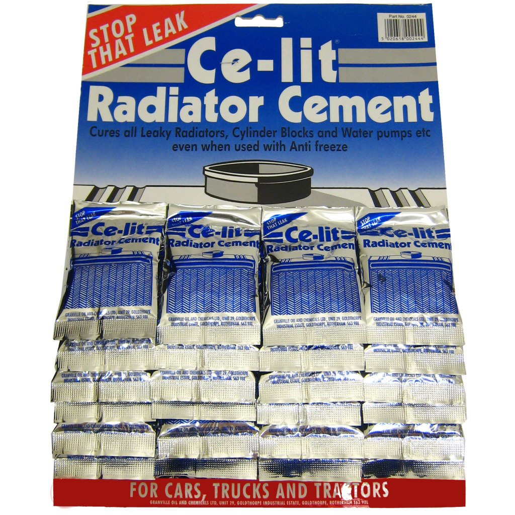 All Trade Direct 24 X Ce-Lit Radiator Cement Cures Leaking Rads Cylinder Block Water Pump Radweld
