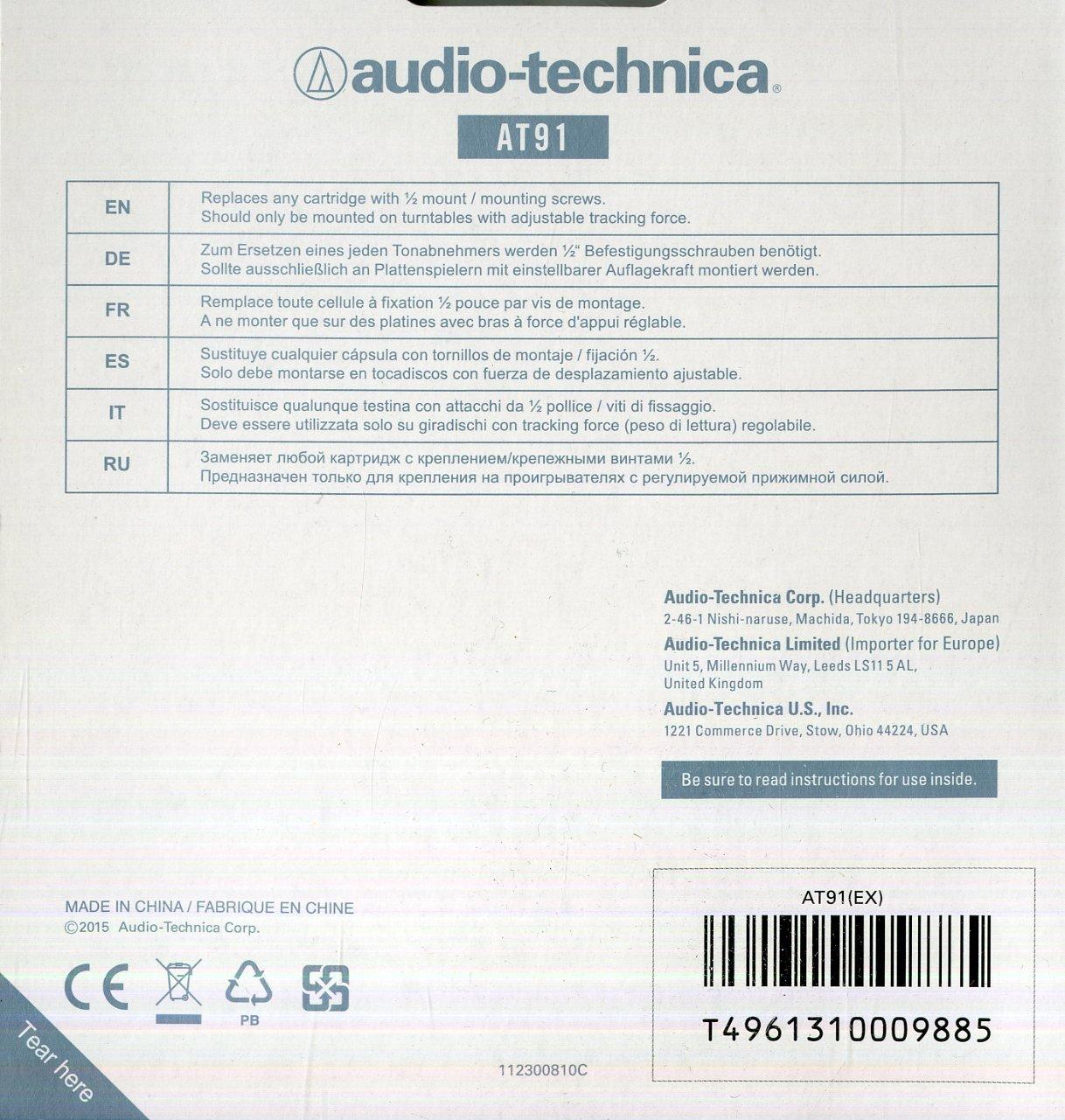 Audio Technica AT 91 - Cartucho giratorio