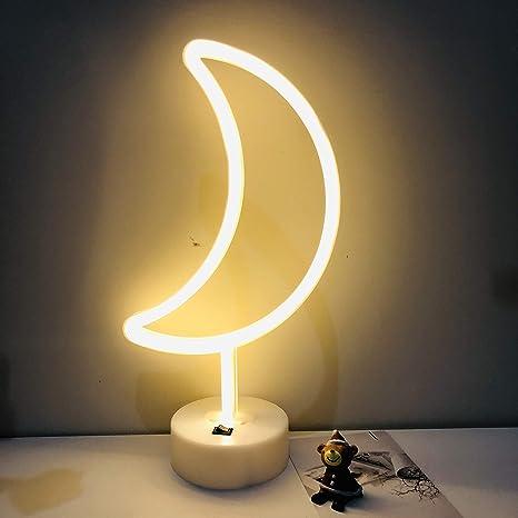 Amazon.com: Letrero de neón con luces LED, decoración de ...