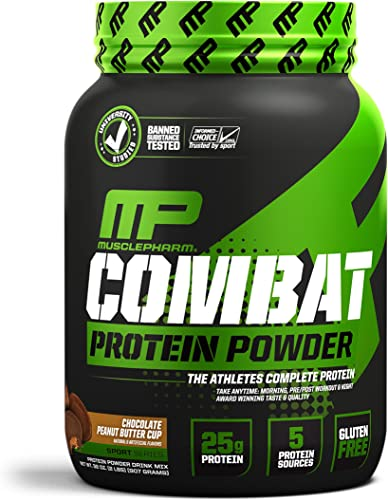 MusclePharm Combat Chocolate, 2 Pound
