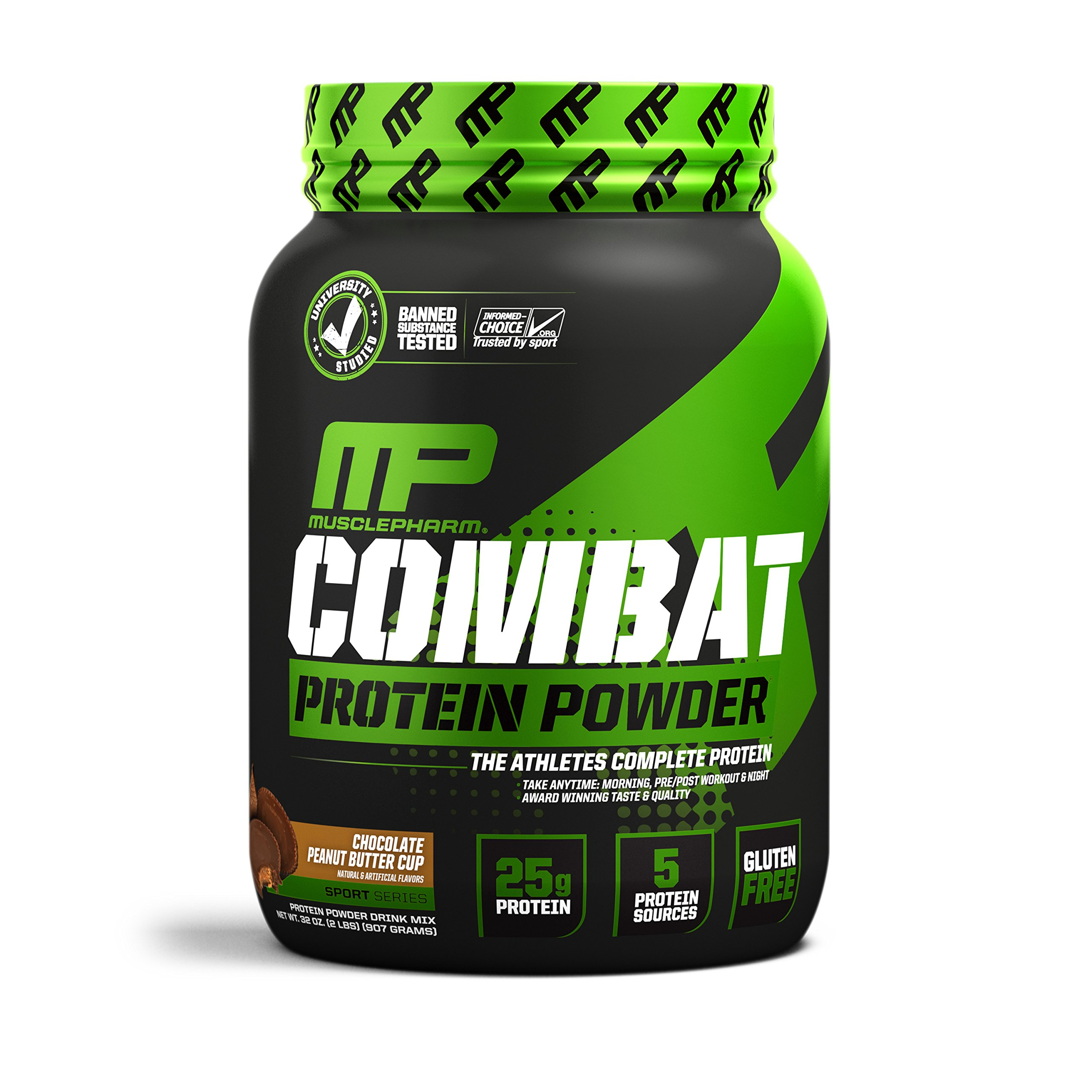 MusclePharm Combat Chocolate, 2 Pound by MusclePharm