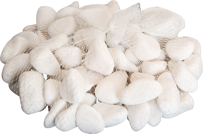 Homeshop3000 Piedras Brillantes Bolsa 2Kg Piedras Blancas ...