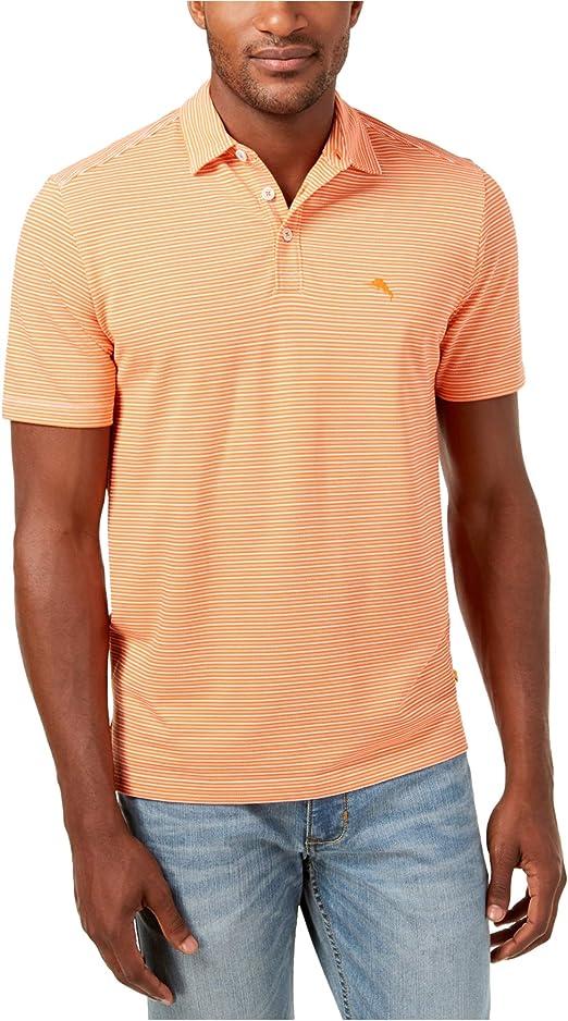 Tommy Bahama Men/'s Big /& Tall Marina Marlin IslandZone Polo Shirt
