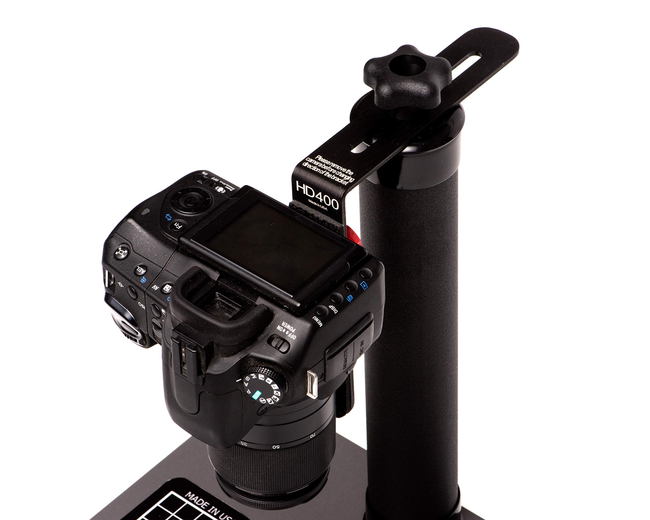 COPY STAND # HD400, A Compact & Small Tool for Digitizing Documents, Photos, or Small Objects with Today's SLR Super Megapixel Cameras by Stand Company (Image #5)