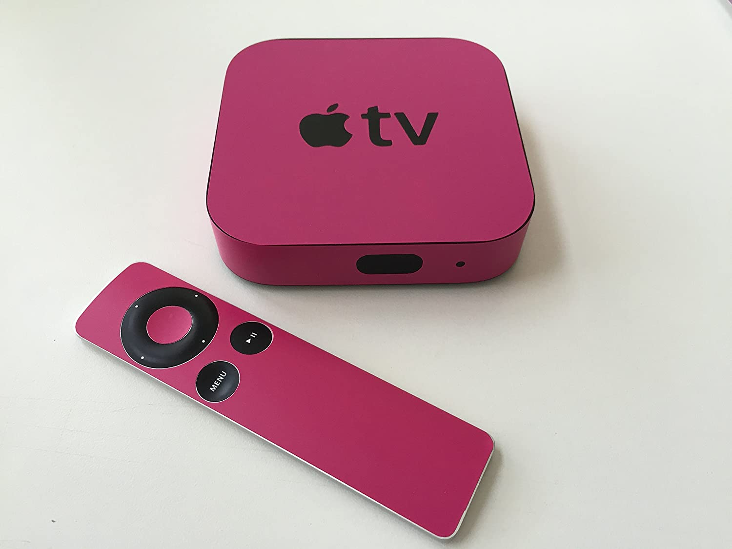 Pink Apple TV Skin (Apple Tv NOT Included)
