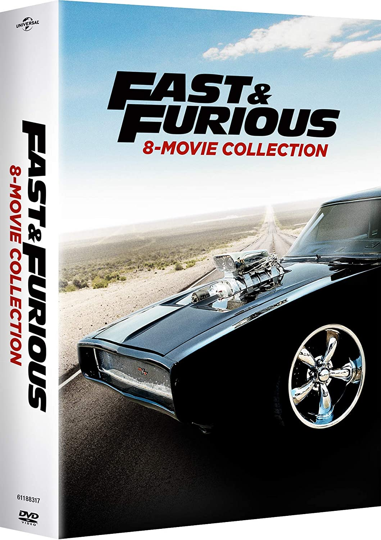 Fast & Furious 8-Movie Collection 9 Dvd Edizione: Stati Uniti ...