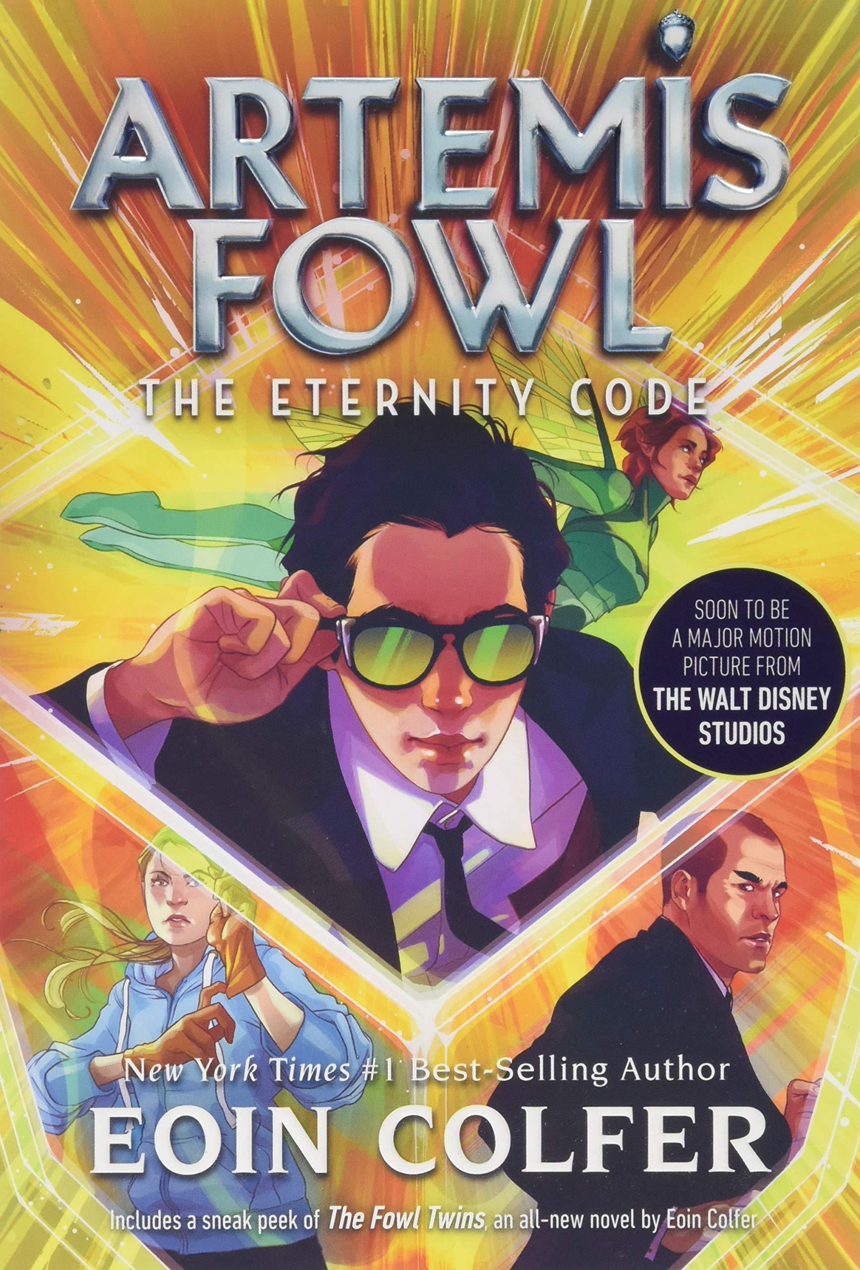 artemis fowl book order
