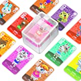 72 Pcs ACNH NFC Tag Game Cards for New Horizons with Crystal Case Switch / Lite